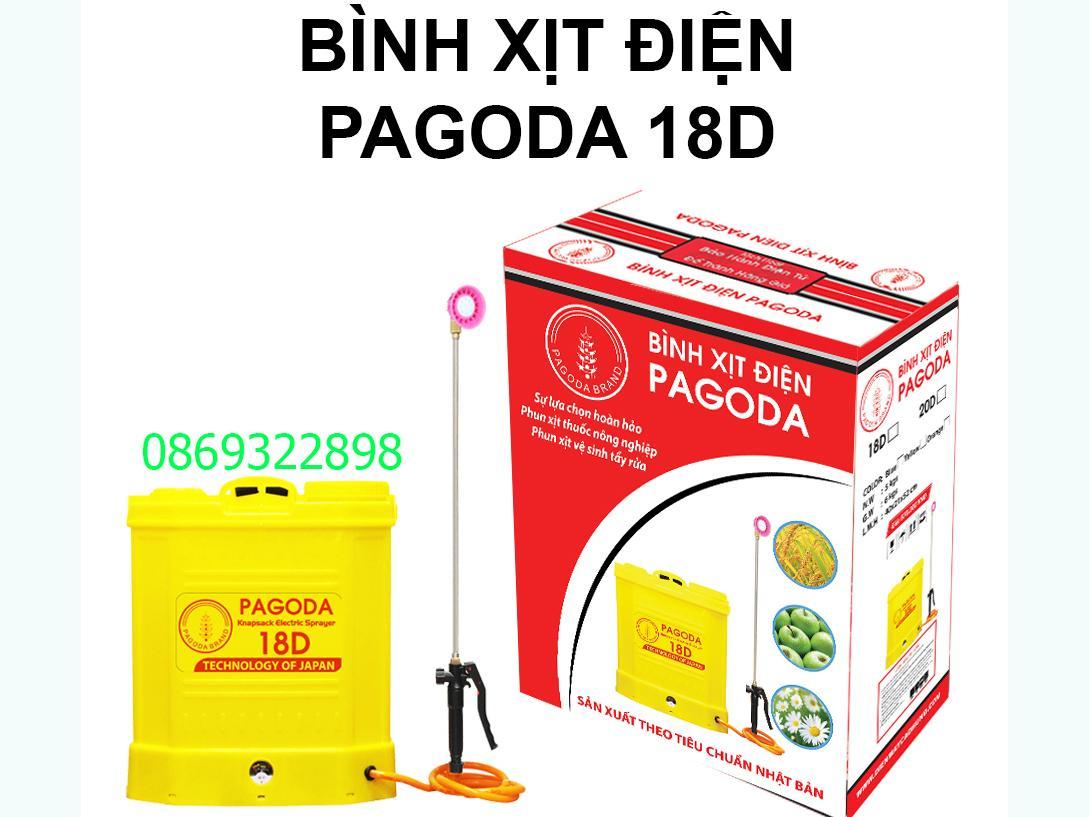 Bình xịt điện PAGODA 18D