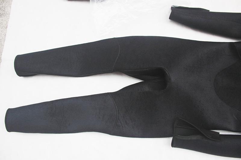 Bộ đồ lặn, quần áo lặn biển 3mm (BLACK) giữ ấm, thoáng khí, chống thầm nước cao cấp POPO Sports - 3