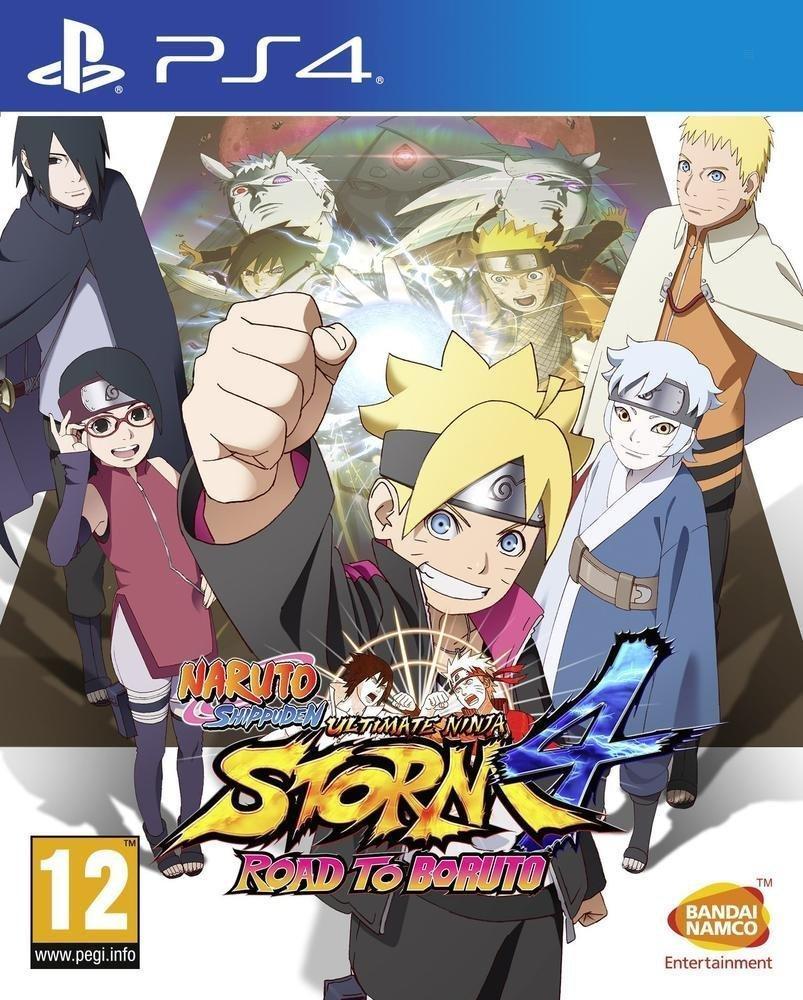 Đĩa Game Ps4 Naruto Shippuden: Road To Boruto Hệ Us