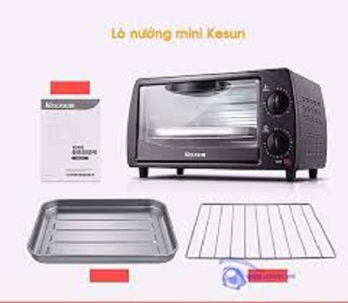 Lò nướng điện Kesun cao cấp dung tích 9L, Công suất 800W, bảo hành 6 tháng- SMARTBUY VIỆT NAM