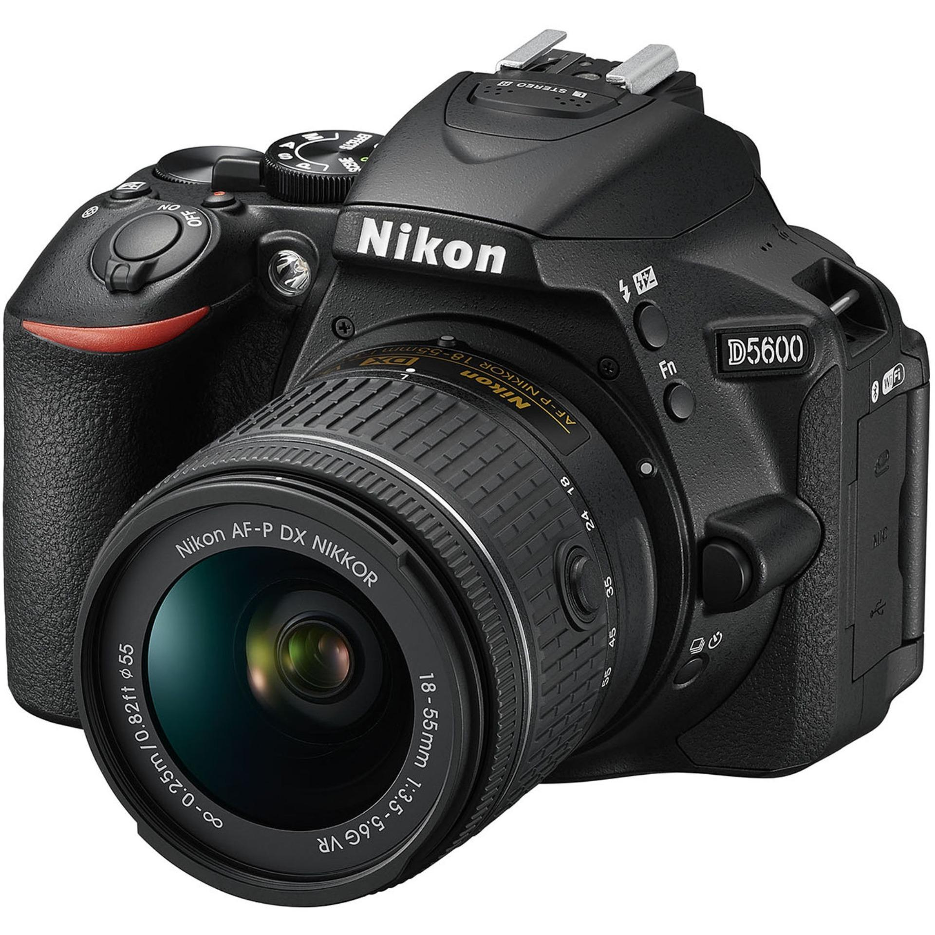 Máy ảnh Nikon D5600 với Lens Kit AF-P 18-55mm VR