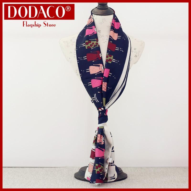 Khăn choàng nữ công sở DODACO DDC1932 Khăn quàng đẹp giá rẻ mẫu mới hot trends 2019 màu nhiều màu khan choang nu cong so khan quang dep gia re mau moi mau nhieu mau