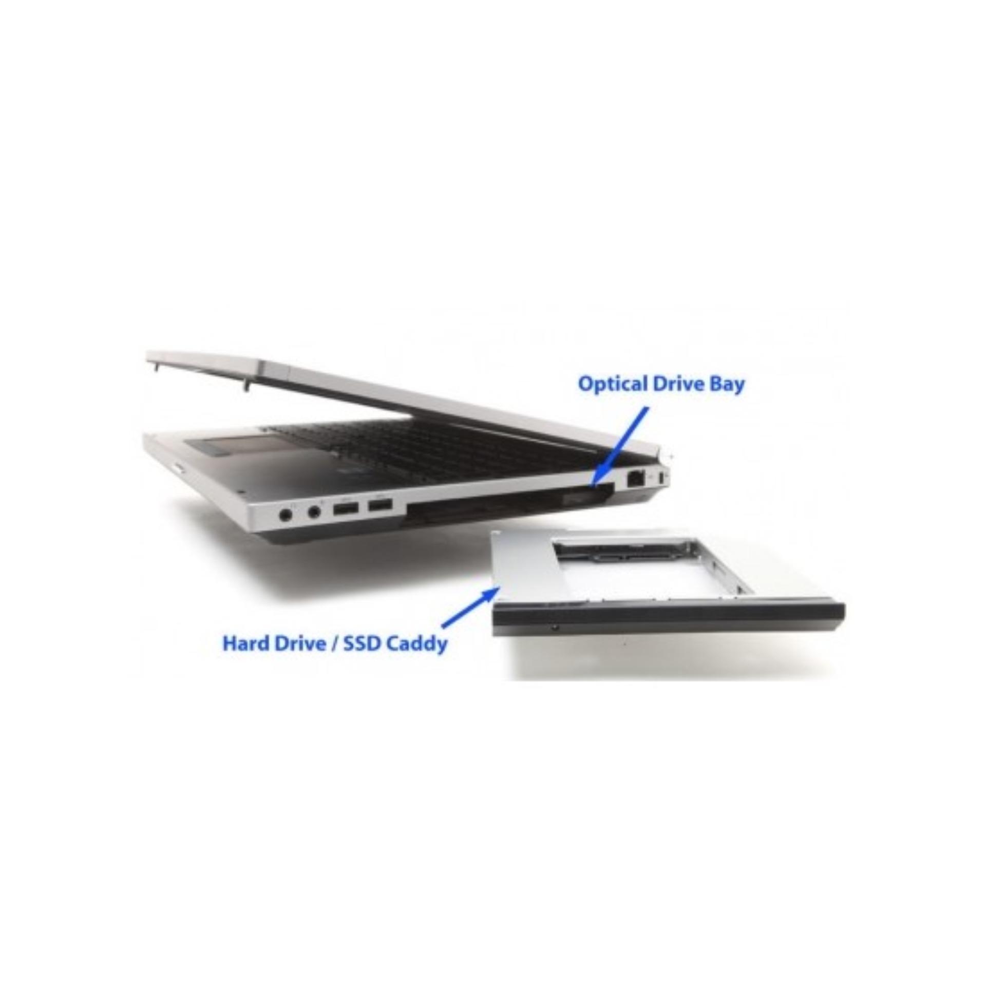 Caddy Bay SATA 3.0 12.5mm gắn thêm ổ cứng HDD SSD cho Laptop qua cổng DVD - Tặng Tovit