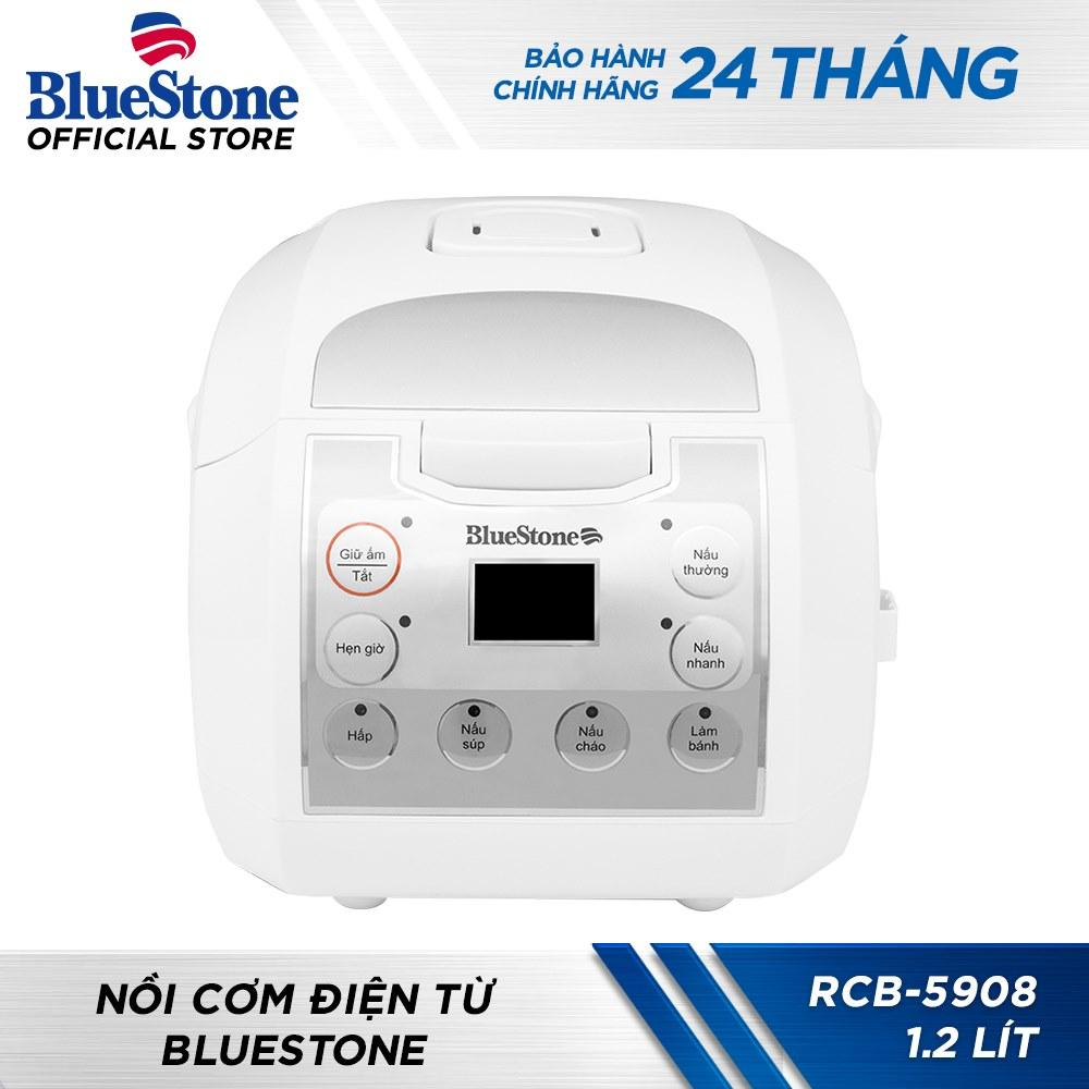 Nồi Cơm Điện Tử Bluestone RCB-5908 1.2L (Trắng)