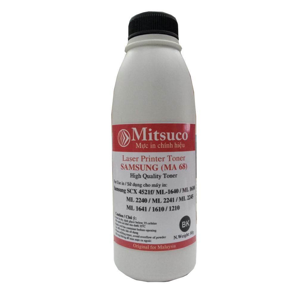 Mực đổ máy in Samsung SCX-4521f/ ML-1640/1610/2240/2241/2245/1641/1610/1210 thương hiệu Mitsuco (Màu đen)