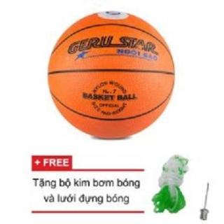 [Lấy mã giảm thêm 30%]Quả bóng rổ cao su gerustar số 7 thumbnail