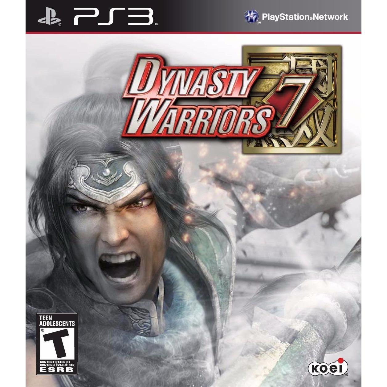 Đĩa game Dynasty Warriors 7 dành cho máy PS3