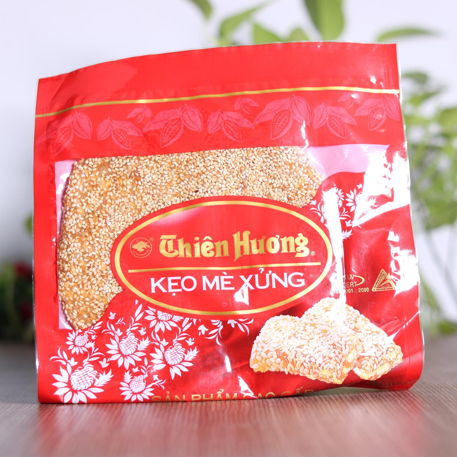 Mè xửng tròn Thiên Hương Huế túi hoa mè 150gr