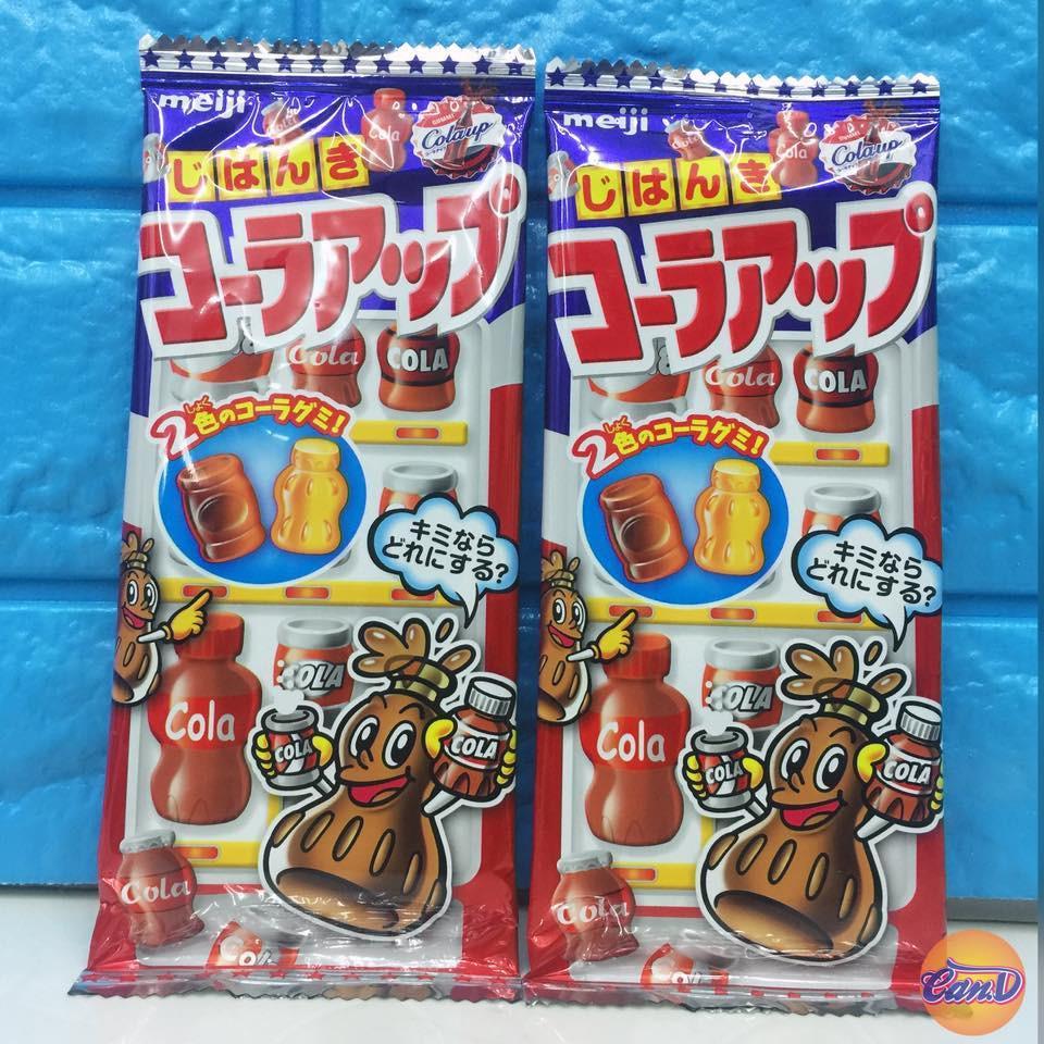 Kẹo dẻo Meiji hình chai Cola