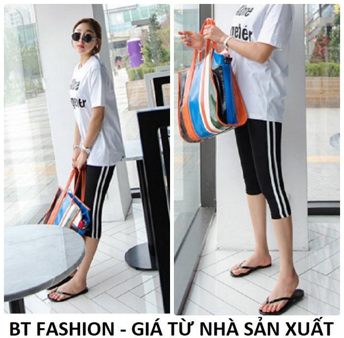 Quần Nữ Thun Ôm Legging Thể Thao Thời Trang Hàn Quốc - BT Fashion (Lững 01)