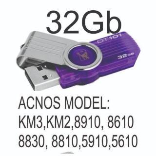 USB 32 gb Kho Nhạc karaoke Dành Cho Đầu Acnos thumbnail
