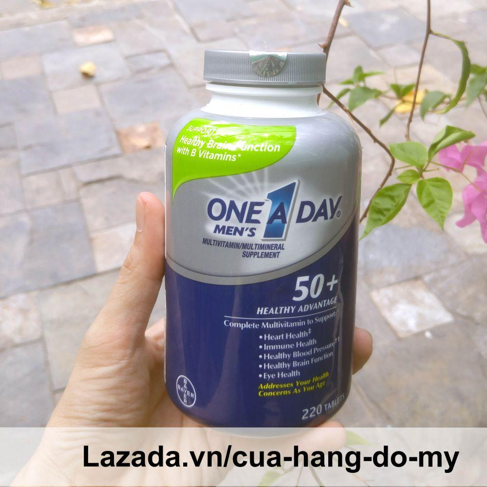 Vitamin Tổng Hợp One A Day Men's 50+ Hộp 220...