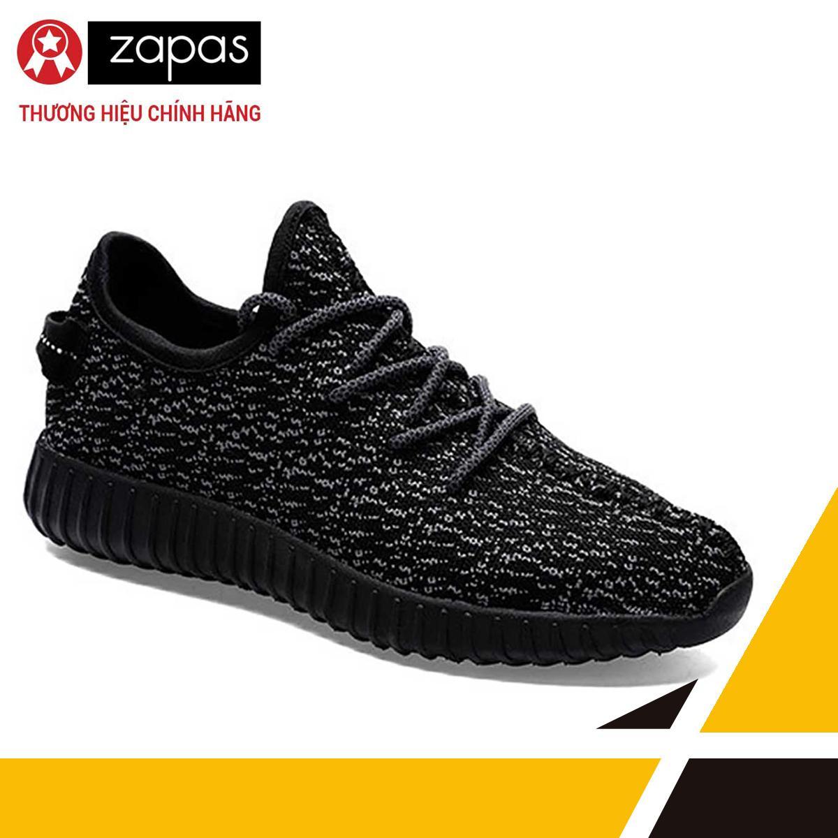 Giày Sneaker Thể Thao Nam Zapas – GS011 (Màu Đen)