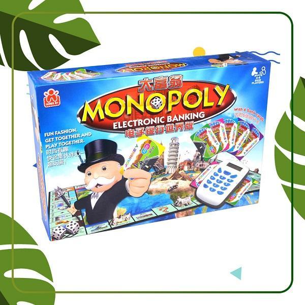 Đồ Chơi Board Game Bg2149 Cờ Tỷ Phú Monopoly: Electronic Banking