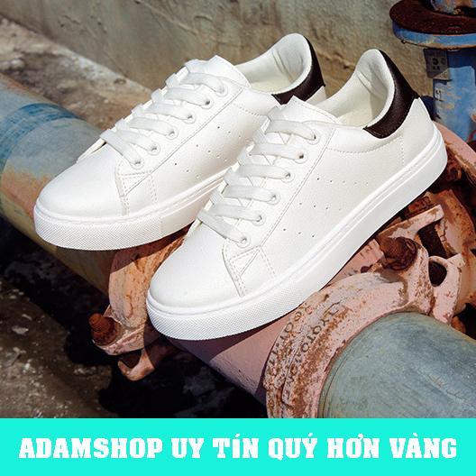Giày Thể Thao Nam Trắng 2018 (Giá Cực Sốc) - ADAM SHOP(AD05)