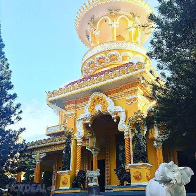 Tour Hành Hương Châu Đốc 1N1Đ, Núi Cấm - Chợ Tịnh Biên, KH Tối Thứ 7 Hàng Tuần Và Lễ/Tết