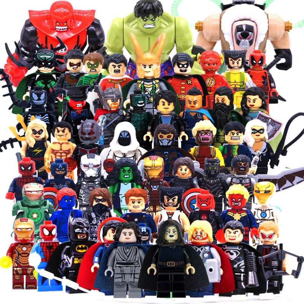 Buy Sell Cheapest Lego Kids Dc Best Quality Product Deals Marvel Boys Batman Super Hero Legoing Figures Building Blocks Avengers Pc Joker Toys