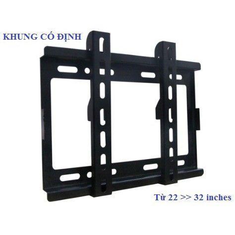 Khung treo Tivi cao cấp 14~32 inch Cố định Camel - CMT32-BBVL