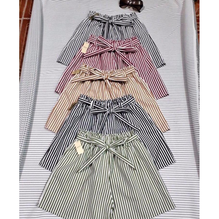 quần sort lưng cao thời trang mới chất vải dày dặn có lưng thun co giãn thoải mái, có rất nhiều màu(giao màu ngẫu nhiên)