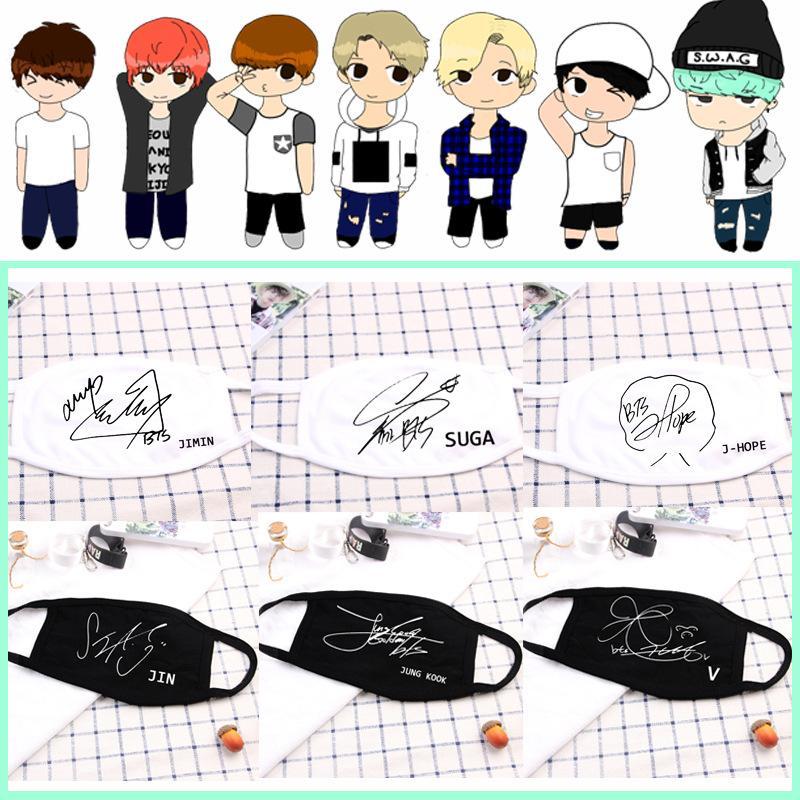 Khẩu trang có chữ ký của Jungkook BTS IDOL