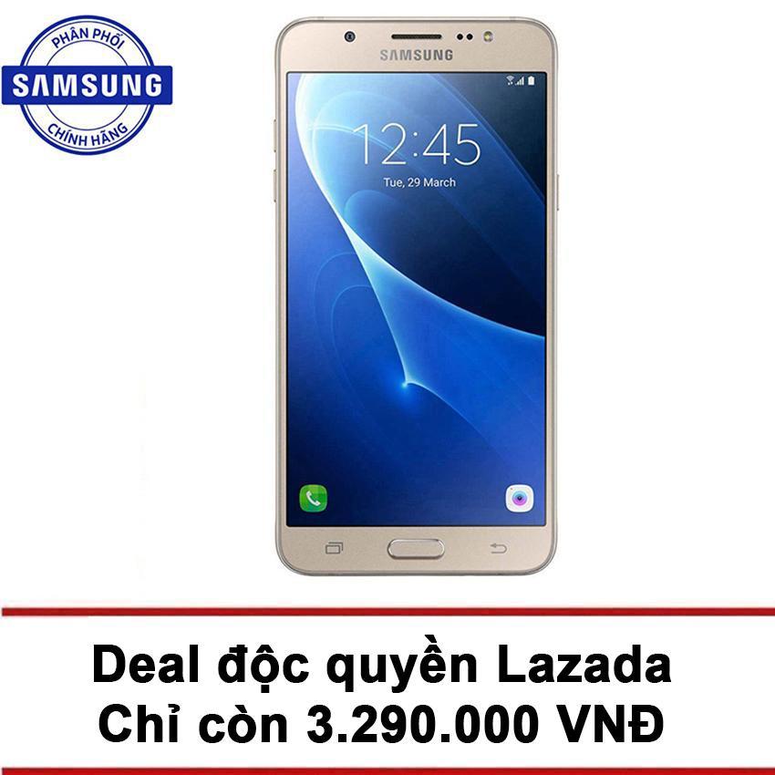 Samsung Galaxy J7 2016 16GB (Vàng) - Hãng Phân phối...