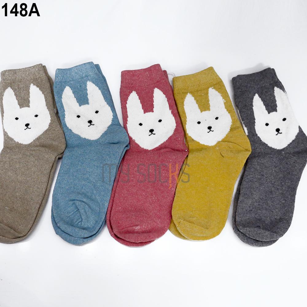 Phụ kiện giày vớ nữ len cao cổ (5 đôi) Vớ Store - A148