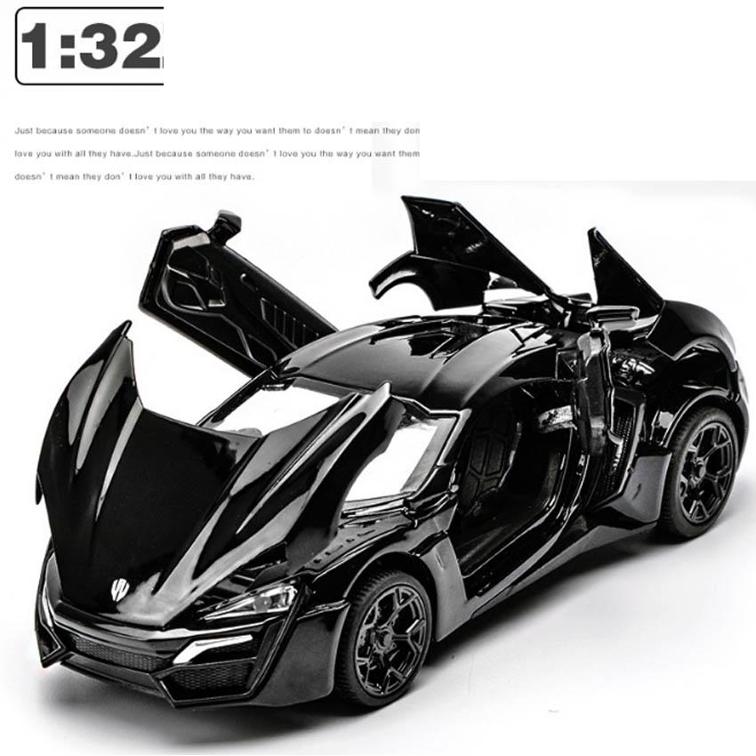 Đồ chơi ô tô mô hình siêu xe làm bằng...
