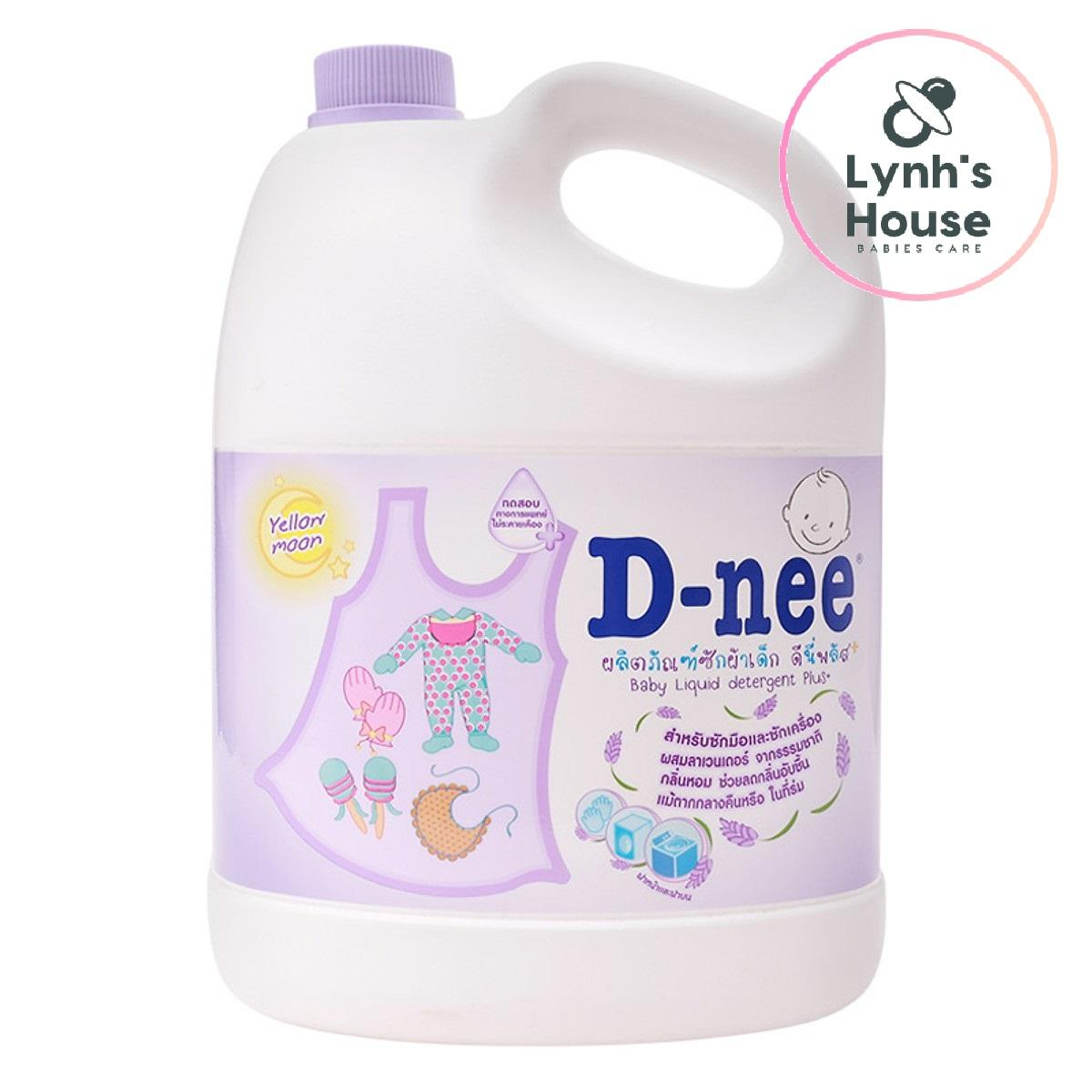 Dung Dịch Giặt Quần Áo Cho Bé D-Nee - Chai 3000ml (Tím) – Thái Lan