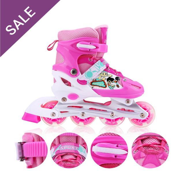 Giá bán Giày patin,  giày trượt patin, giày patin trẻ em, giày patin người lớn - Giầy PaTin Trẻ Em Người Lớn (5 đến 14 tuổi) - Mẫu Mới 2020 SALE  50% khi mua hàng -  Uy Tín, Chất Lượng, Giảm Giá 50%