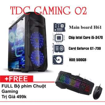 Máy tính chuyên Game Intel® Core i5, VGA GT730 2gb, Ram 8gb, Hdd 500gb( TDCGaming 02) + Tặng phím chuột chuyên game.