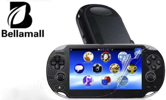... Bellamall Hot LCD Screen Protective Film Clear For PSVITA Playstation Vita PS VITA intl