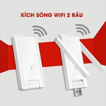 [ XẢ KHO 3 NGÀY ] Kích sóng wifi Mecury 2 râu