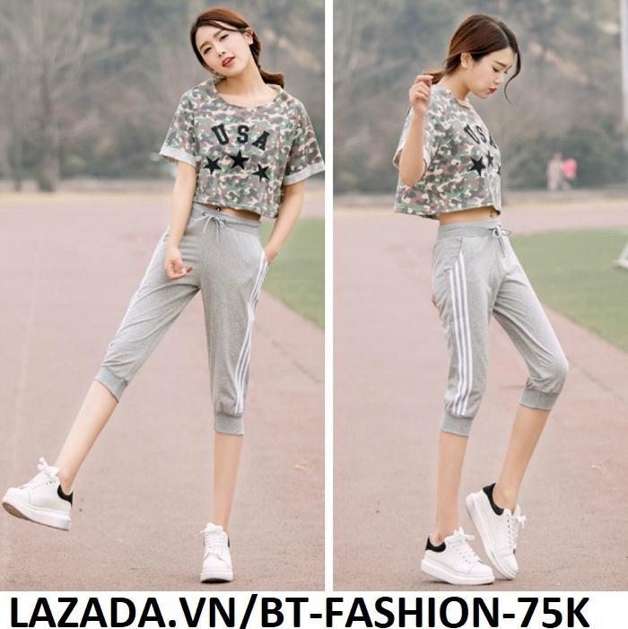 Quần Thun Thể Thao Nữ Jogger Thời Trang  Hàn Quốc Mới- BT Fashion (JO02-L3S NEW)