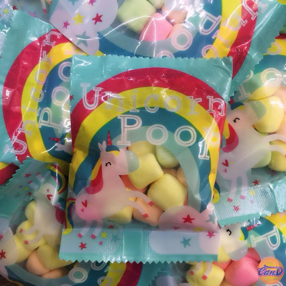 Marshmallow Unicorn Poop