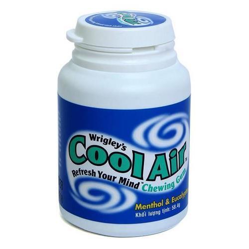 Kẹo sing gum hương bạc hà Cool Air 58.4gram