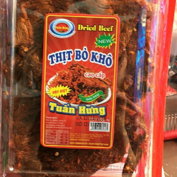 Thịt bò khô tuấn hưng