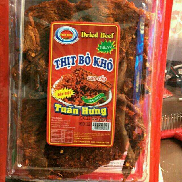 Thịt bò khô đóng goi