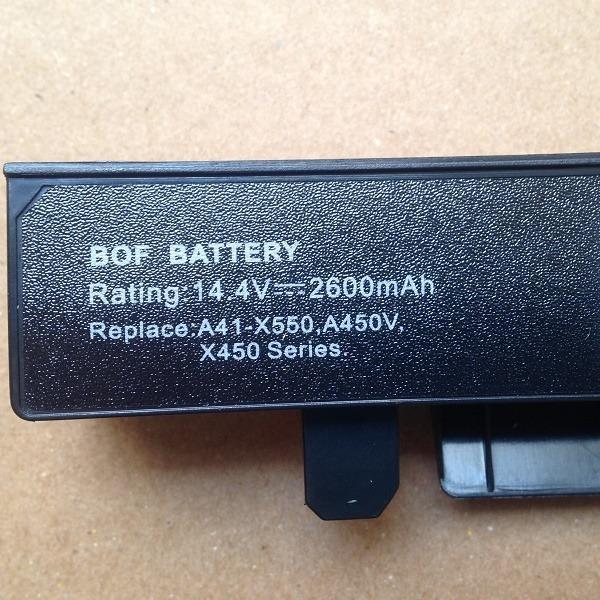 Pin Laptop Asus X450C X450CA X450CC X450CP chất lượng nhập khẩu