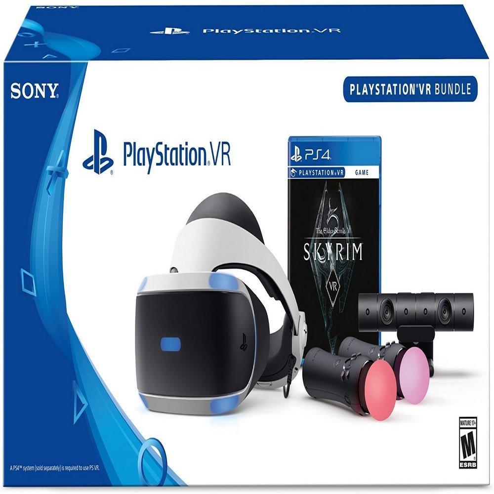 Playstation Ps Vr The Elder Scrolls V Skyrim Bundle