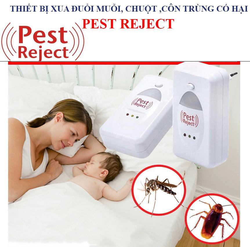 Bán Đèn Bắt Muỗi, Thiết Bị Đuổi Muỗi, Chuột, Gián Mối Mọt Pest Reject Thế Hệ 3 Sống Âm Tần Số 0,5 Hz, Phòng Chống Bệnh Dịch Bảo Hành 12 Tháng
