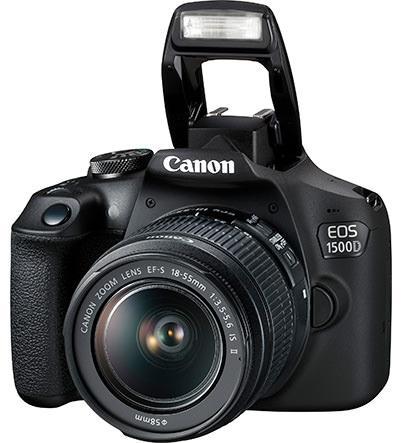 Máy ảnh Canon EOS 1500D KIT (EF S18-55 IS II) phân phối chính hãng
