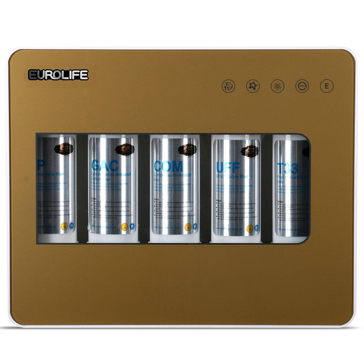 Bộ Lọc Nước 5 Cấp Độ Uống Trực Tiếp Ultra-Filter Eurolife El-Uf5-1