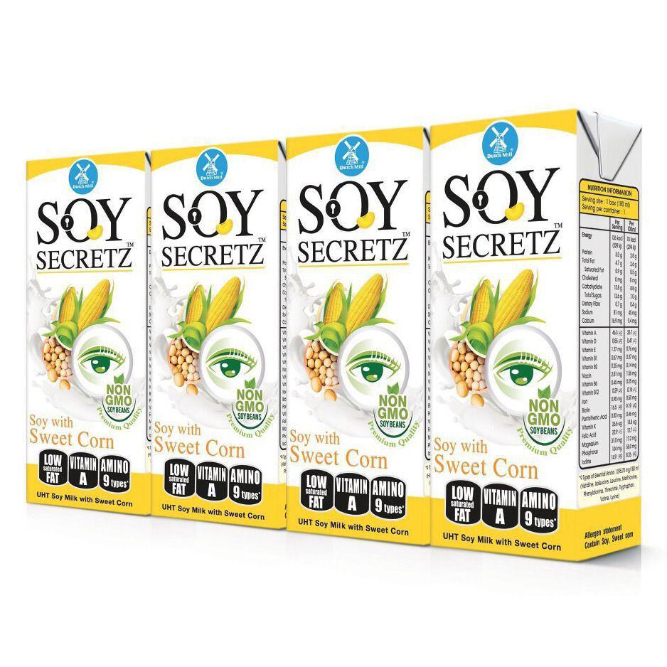 Sữa Đậu Nành Soy Secretz Bắp Ngọt