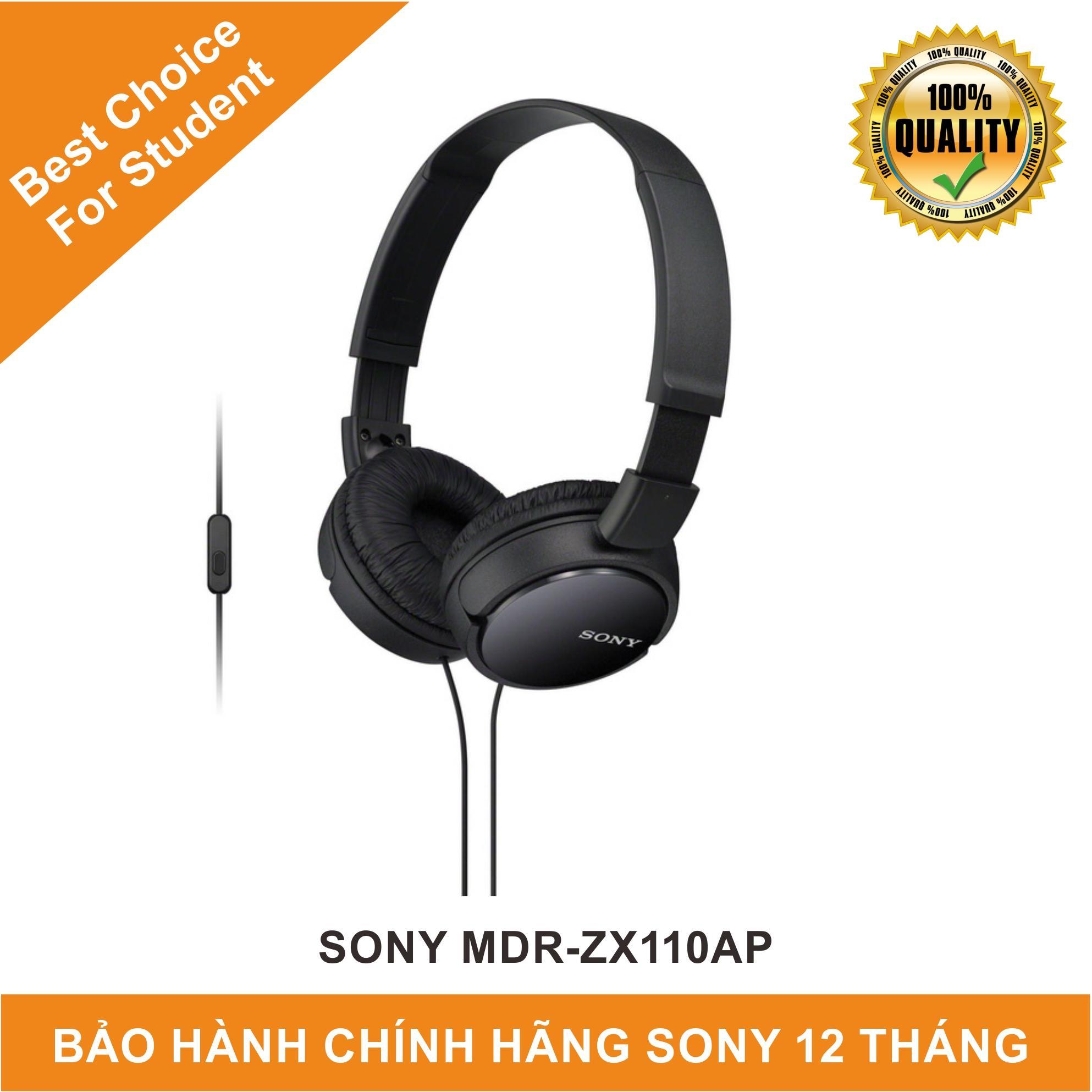 Tai nghe chụp tai Sony ZX110AP - Hãng Phân Phối Chính Thức