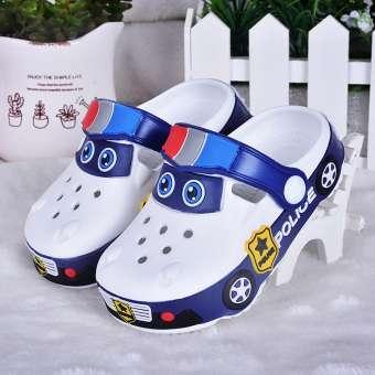 การ์ตูนรถยนต์ Petpet รองเท้าแตะในห้อง 2 พื้นรองเท้าแตะเด็ก 3 รองเท้าเด็กผู้ชาย 4 เด็กโรงเรียนอนุบาลรองเท้าแตะ 5 ปี