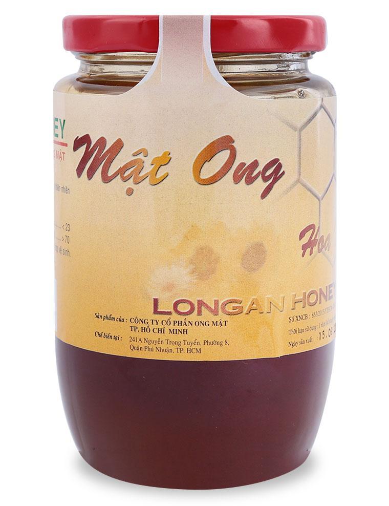Mật Ong Hoa Nhãn Bee Honey Hộp 385ML