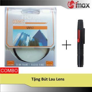 Kính lọc Filter Hoya HMC UV 77mm + Bút lau lens thumbnail
