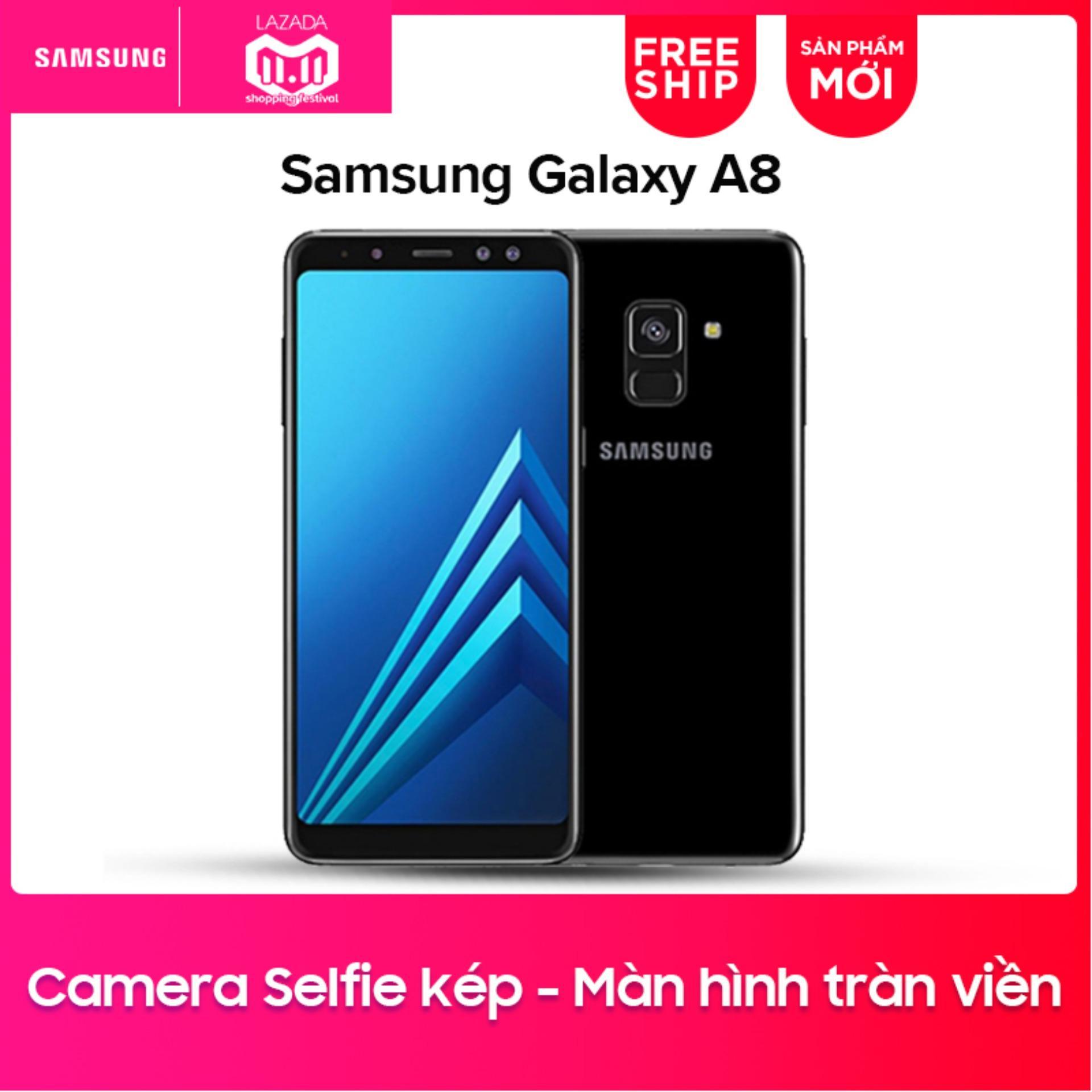Samsung Galaxy A8 32GB RAM 4GB 5.6inch- Hãng phân phối chính thức