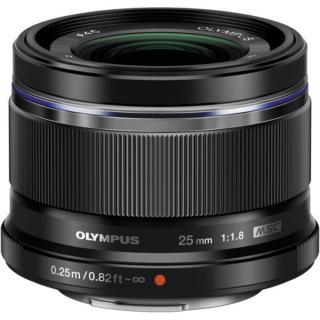 Ống kính Olympus M.Zuiko ED 25mm F1.8 (Đen) thumbnail