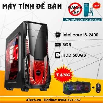 Máy Tính Để Bàn Intel Core i5 2400, Ram 8Gb, Hdd 500GB.